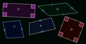 divergent lines